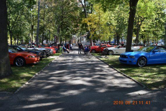 Exposition de voitures – 21 septembre 2019